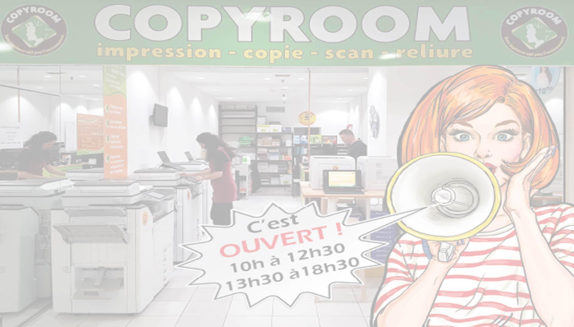 Bienvenue à Copyroom 3 Soleils !